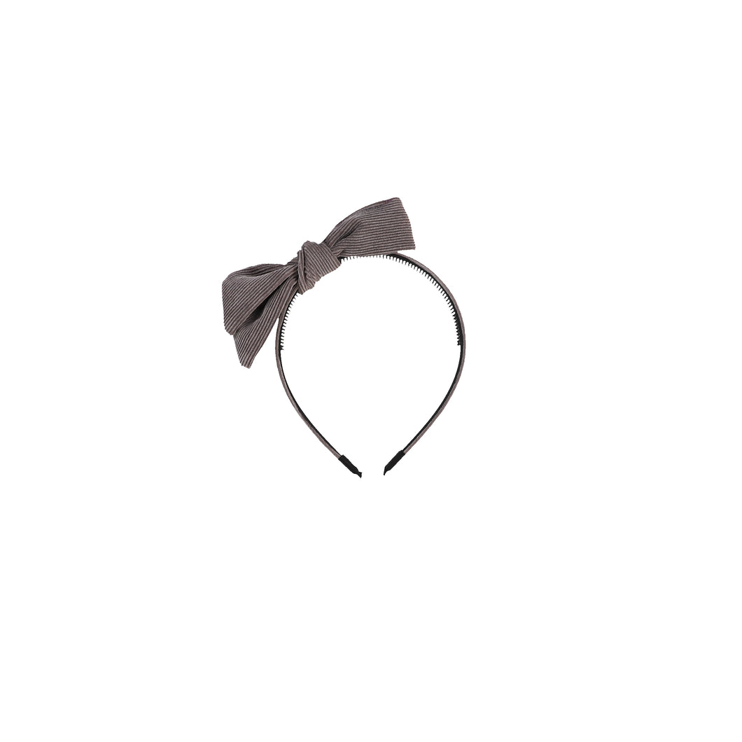 CORDUROY BOW HEADBAND