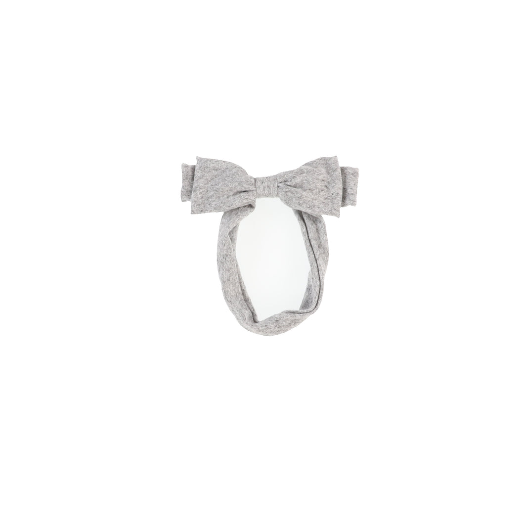 WOOL BABY BOW BAND