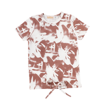 Load image into Gallery viewer, SS ABSTRACT DRAWSTRING TEE