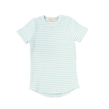 Load image into Gallery viewer, SS RIBBED STRIPE TEE