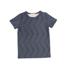 Load image into Gallery viewer, SS ZIGZAG PUFF TEE