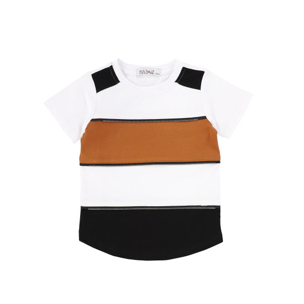 WIDE STRIPE TEE