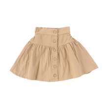 Load image into Gallery viewer, COTTON BUTTON DOWN SKIRT