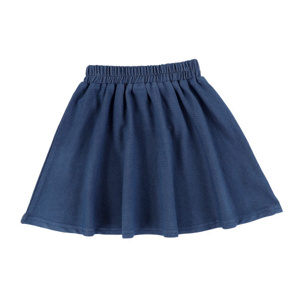 DENIM STRETCH SKIRT