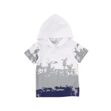 Load image into Gallery viewer, HOODED OMBRE TEE