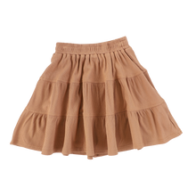 Load image into Gallery viewer, RIBBED TIERED SKIRT