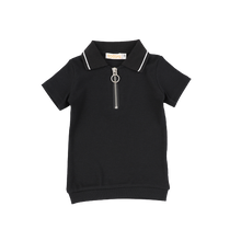 Load image into Gallery viewer, SS RIBBED POLO TEE