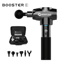 Booster E Percussive Massage Gun (Black)