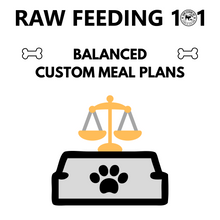 Load image into Gallery viewer, NRC Raw Feeding Meal Plans