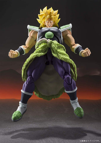 Bandai Spirits S.H.Figuarts Dragon Ball Super Broly Action Figure