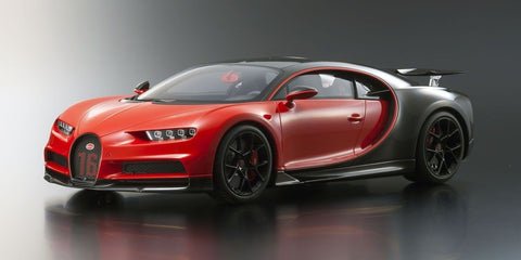 KYOSHO ORIGINAL 1/12 Scale Bugatti Chiron Sport (Red/Black) [No.KSR08667R]
