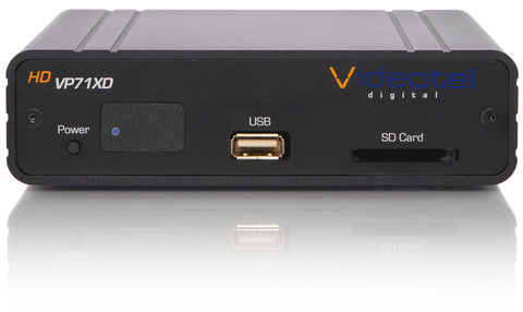 VP71XD Industrial Interactive and Looping Media Player