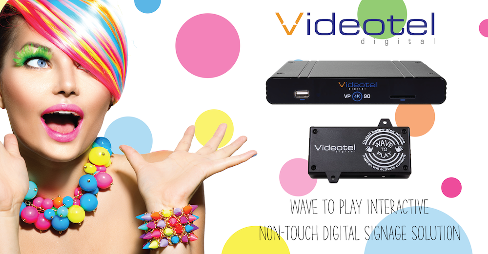 Touchless QR Code Solution With VP90 Industrial Media Player