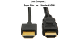 1' HDMI Slim Cable