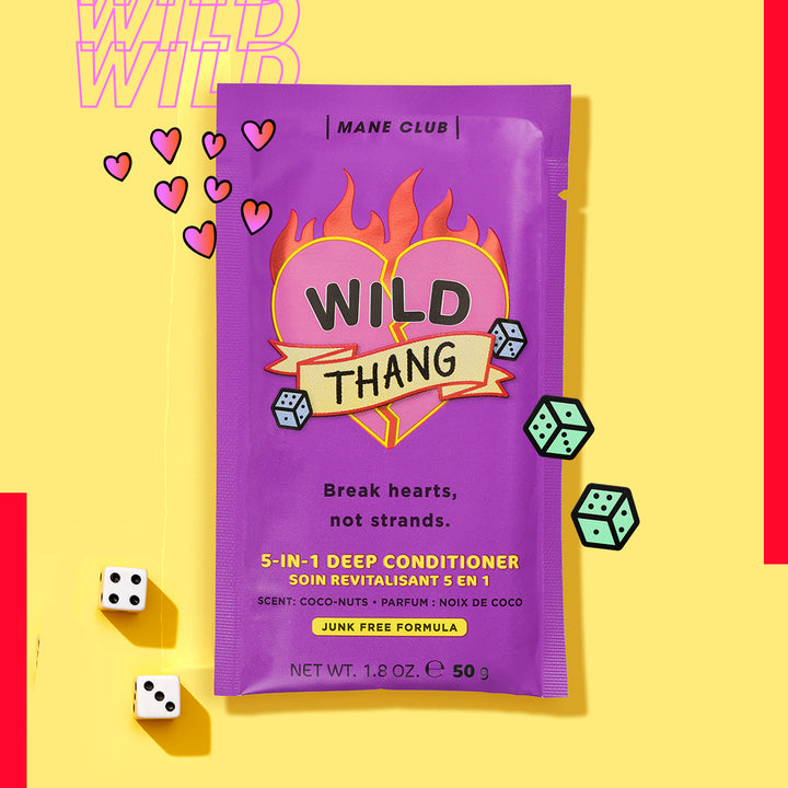 Mane Club Wild Thang Repairing Hair Mask