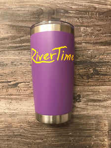 RiverTime Purple 20 oz Tumbler