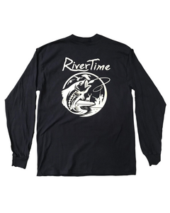 RiverTime Fish, Deer, Duck Long Sleeve T-Shirt