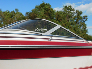 RiverTime Decal Stickers