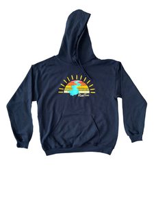 RiverTime Sunset on the River Hoodie