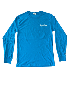 RiverTime Relax You're On....Pacific Blue Long Sleeve T-Shirt