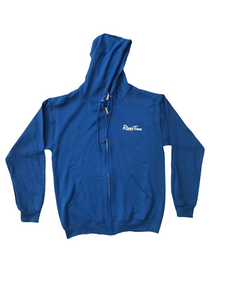 RiverTime Relax You're On....Royal Blue Zip-Up