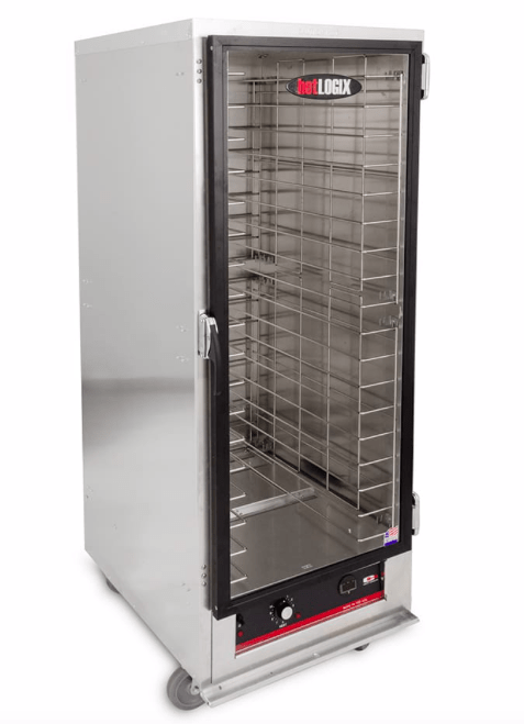 Carter Hoffman Heated Cabinet Carter-Hoffmann HL1-18 Full Height Non-Insulated Mobile Heated Cabinet w/ (18) Pan Capacity, 120v