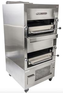 Southbend Upright Broiler Southbend 270D-4 Double Infrared Deck Radiant Broiler, Free Standing, Natural Gas