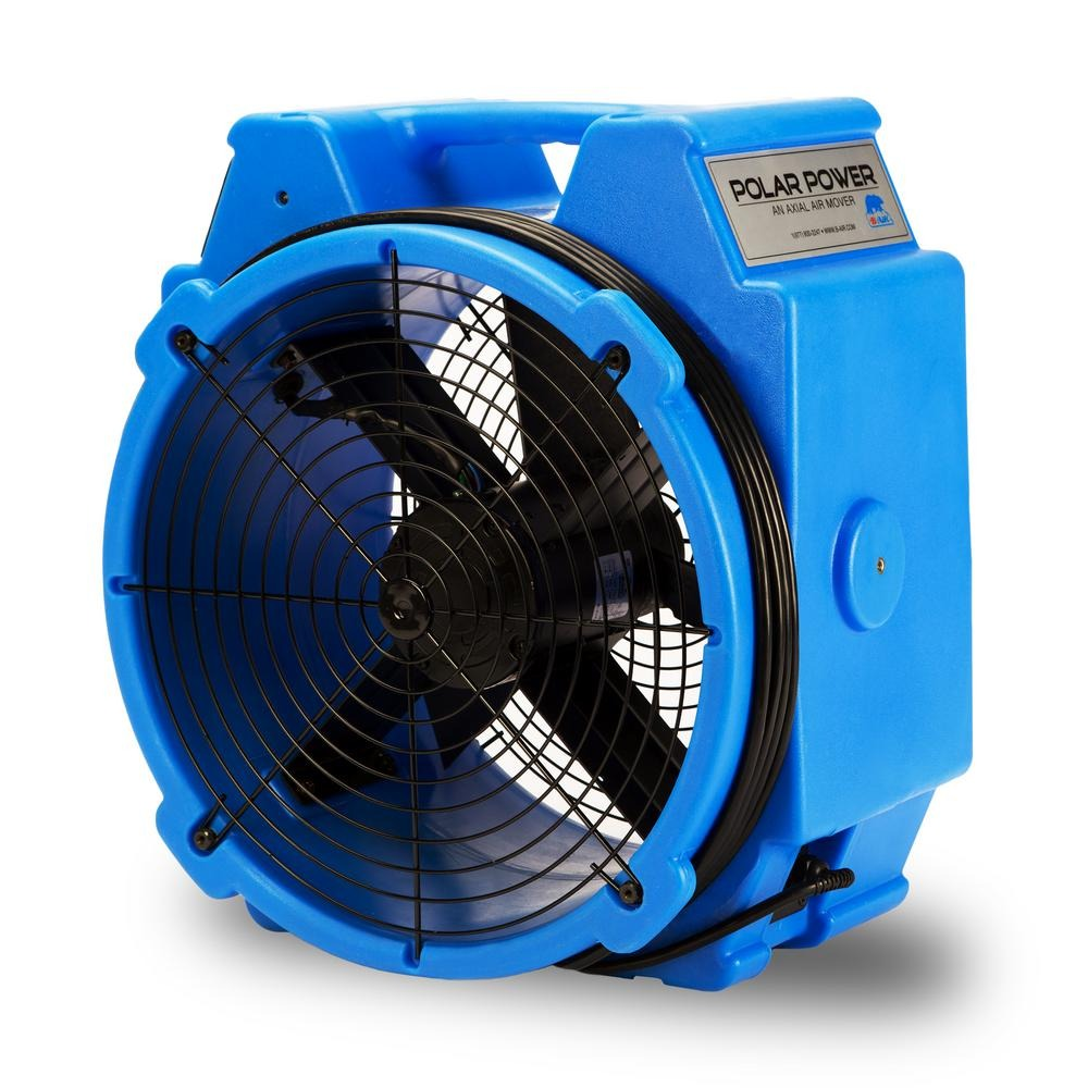 B-Air 1/4 HP Polar Bear Axial PB-25 Dyno Blower Fan