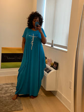 Load image into Gallery viewer, Keep The Faith Maxi Dress