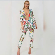 Load image into Gallery viewer, Miami Vice Floral Blazer/Pant Set