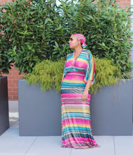 Load image into Gallery viewer, Come Thru Kimono Maxi Dress S-3X ALL SMALLS ON SALE!