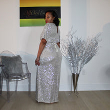 Load image into Gallery viewer, All That Shimmers Sequin Maxi Dress