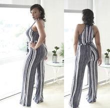 Load image into Gallery viewer, Veronica striped jumpsuit