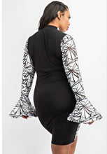 Load image into Gallery viewer, Hologram Love BodyCon Dress