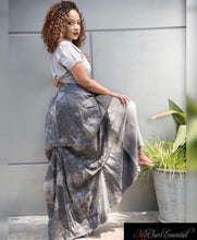 Load image into Gallery viewer, 50 Shades of Gray Denim Maxi Skirt ***PREORDER IS NOW CLOSED***