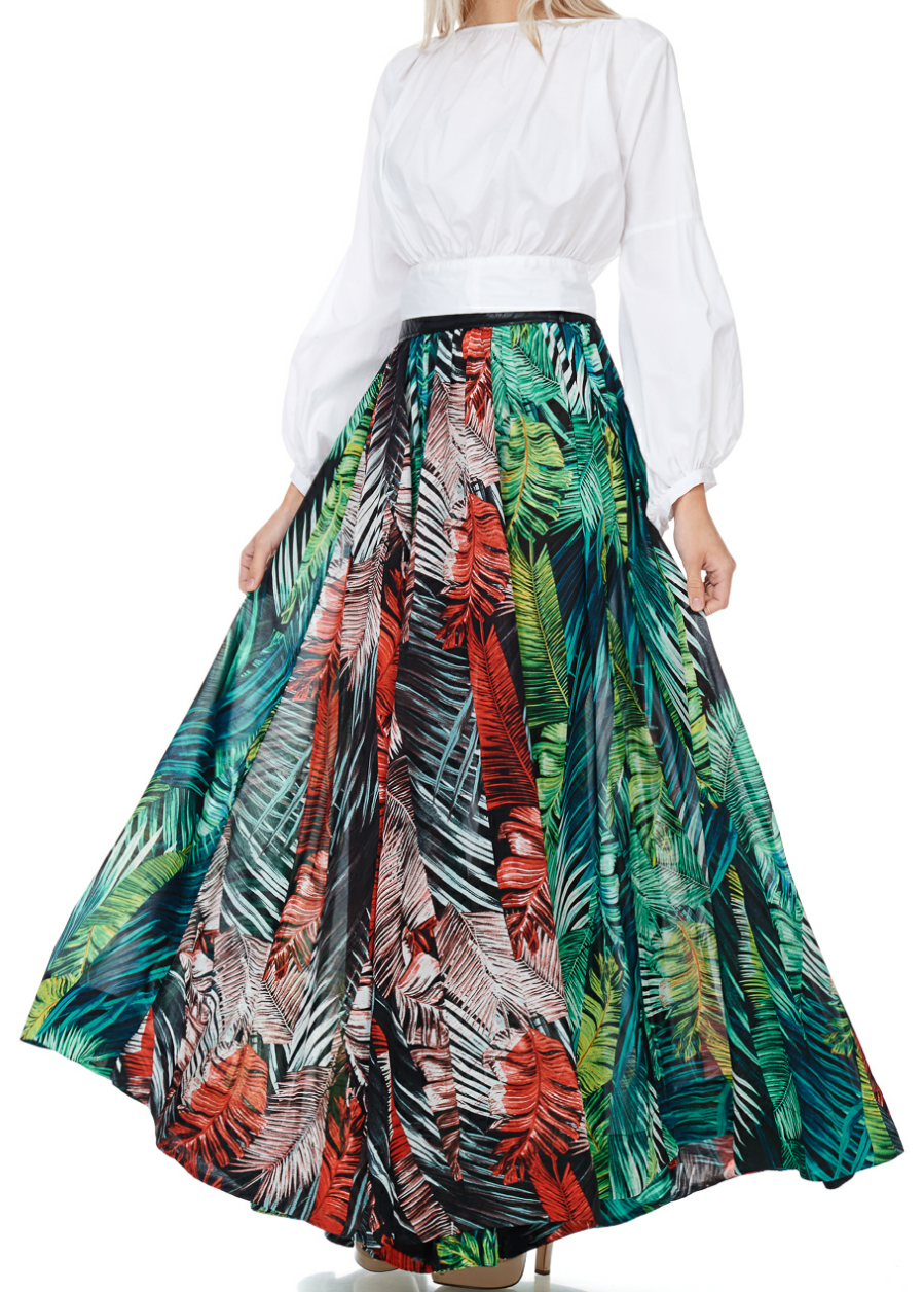 Island Breeze Maxi Skirt