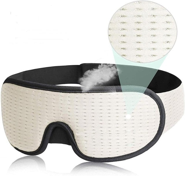 Breathable 3D Sleeping Mask Block Out Light Sleep Mask For Eyes Slaapmasker Eye Shade Blindfold Sleeping Aid Face Mask Eyepatch