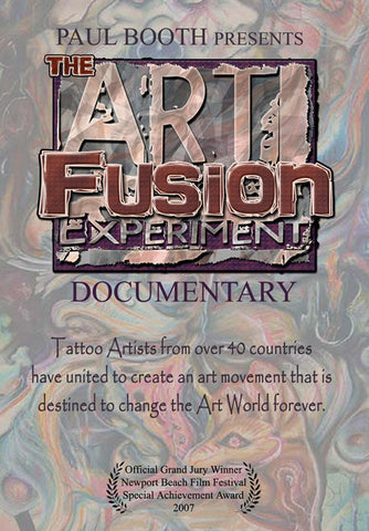 "Paul Booth, ""The ArtFusion Experiment"" Documentary"