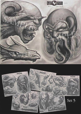 Paul Booth, Tattoo Flash Set 5
