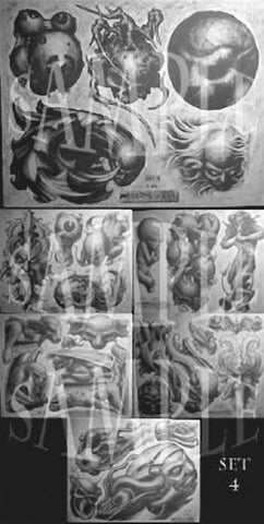 Paul Booth, Tattoo Flash Set 4