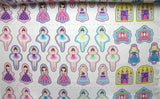 Applique Fairytale Princess & Ballerina Panel Print Craft Fabric - The Textile Centre