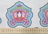 SALE!!! Applique Fairytale Princess & Ballerina Panel Print Craft Fabric - The Textile Centre
