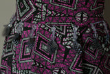 SALE!!! Captivating Diamond Mirror Symmetry American Crepe Type Dress Fabric Material