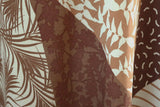 Geometric & Floral Patchwork Print 100% Spun Viscose Dress Fabric Material - The Textile Centre