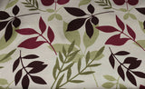 SALE!!! 100% Cotton Autumnal Leafy Falls Print Curtain Fabric Material