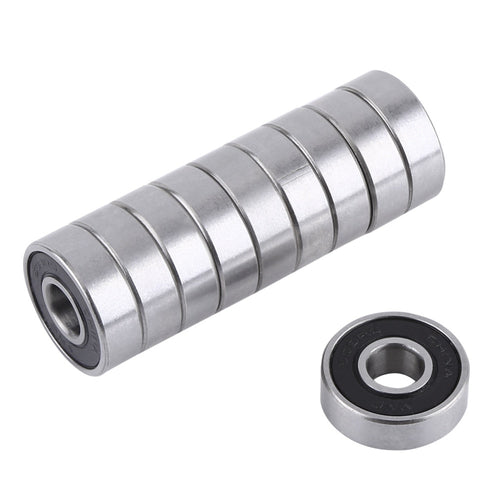 10Pcs/set 608 2RS Ball Bearing ABEC-5 8X22X7 mm Deep Groove Steel Sealed Ball Bearings 608RS Z3V3 608-2RS 608rs Bearing