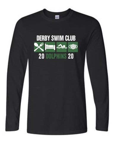 Derby Swim Club - Gildan - Softstyle® Long Sleeve T-Shirt