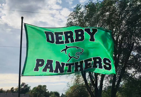 Derby Panthers 3' x 5' Flag
