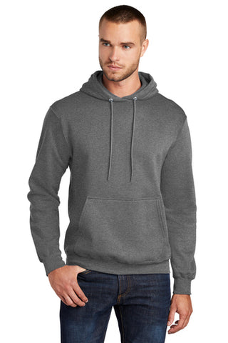 Custom - One Color Screen Print - Port & Company - Core Fleece Pullover Hooded Sweatshirt - PC78H