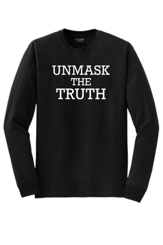 UNMASK the Truth - Longsleeve Shirt - FUNDRAISER
